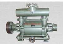 Máy bơm hút chân không vòng nước rời trục 1 cấp hiệu HANCHANG Model: HWVP-1-2500/3400