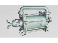 Máy bơm hút chân không vòng nước rời trục 2 cấp hiệu HANCHANG Model: HWVP-2-2000/2800